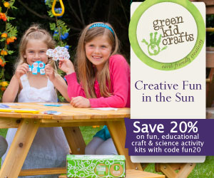 Save 20% on fun and educational activities this summer!