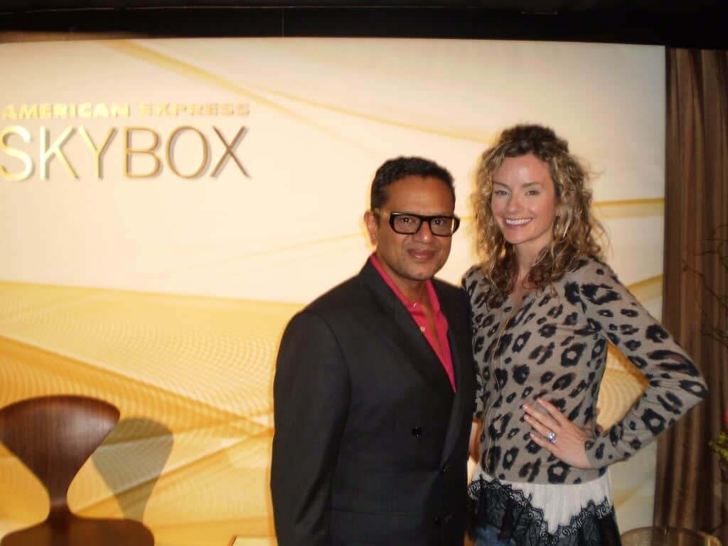 Meeting Naeem Khan! One of my fave fashion week moments!!