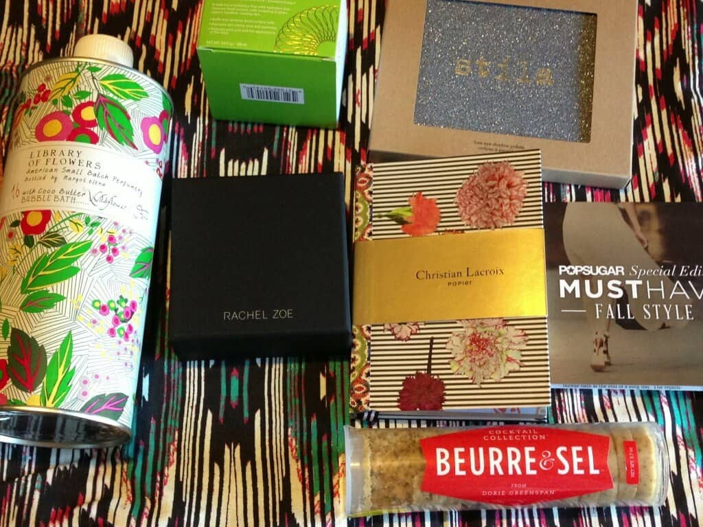 POPSUGAR Must Have Fall Style Special Edition Box Review! (UPDATED!) photo