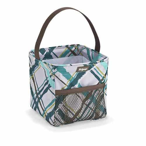 littles carry all caddy in sea plaid
