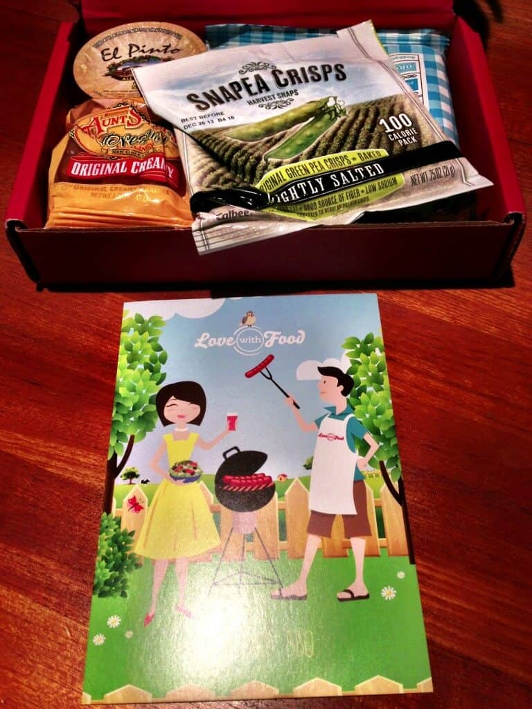 love with food august subscription box review first look