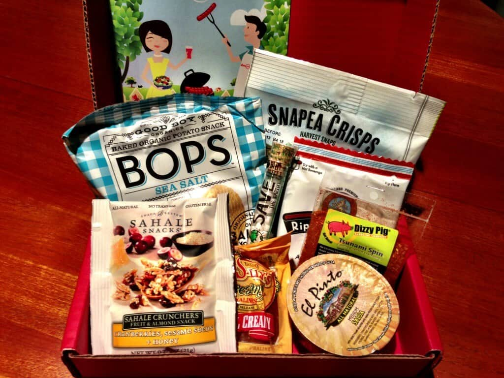 love with food august subscription box review