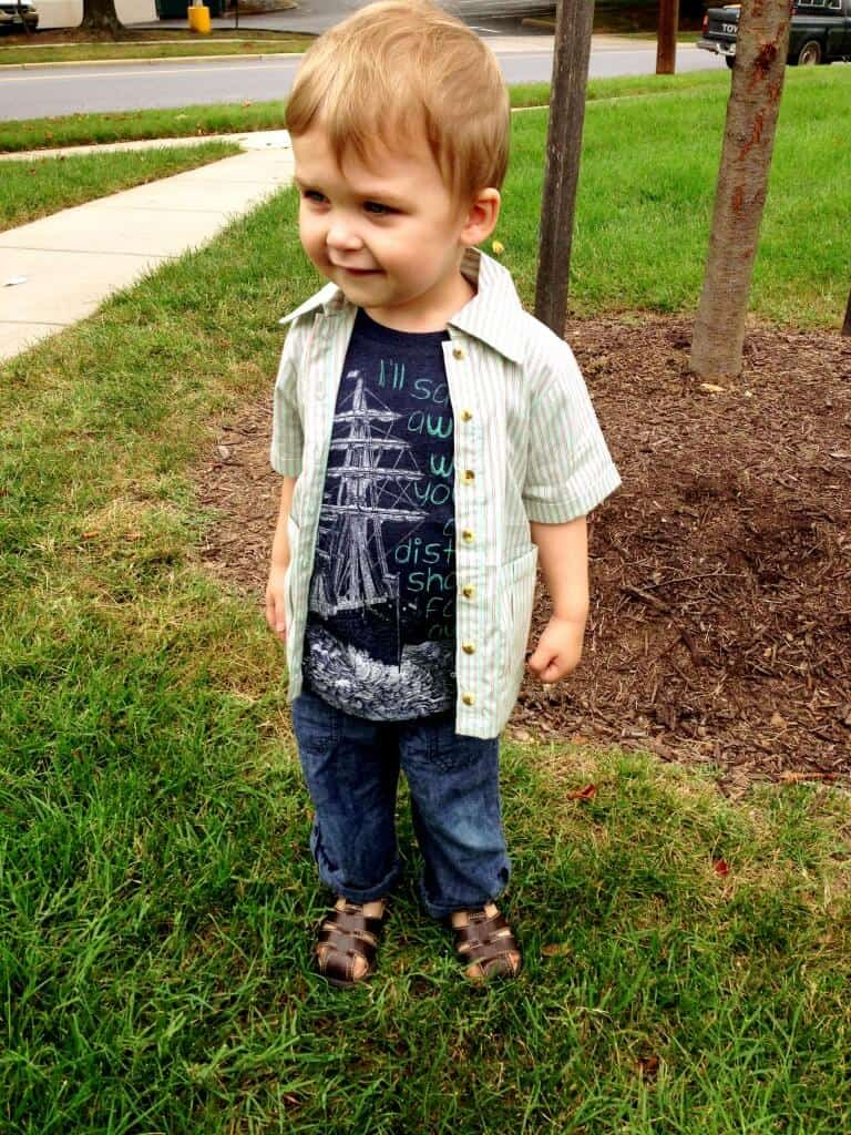 sweet pea review boys outfit august