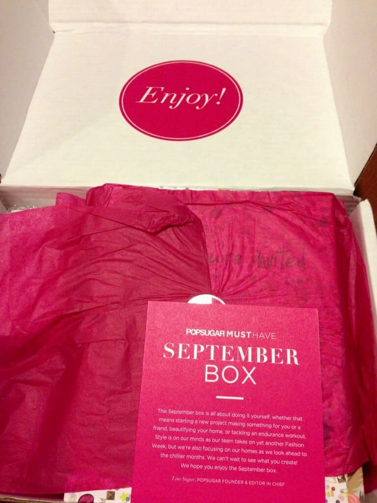 Popsugar Must Have Resort Box Review: September Popsugar Must Have Box Review