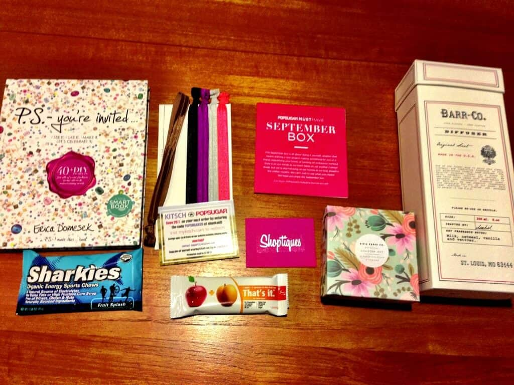 September Popsugar Must Have Box Review photo