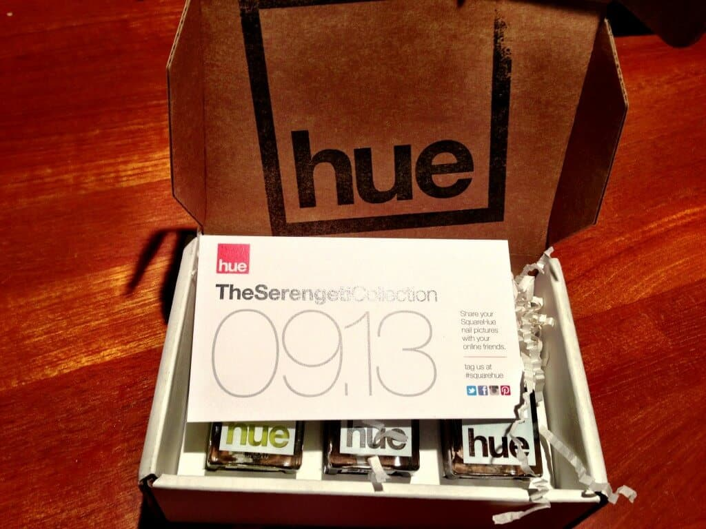 Square Hue Review September Serengeti Collection photo