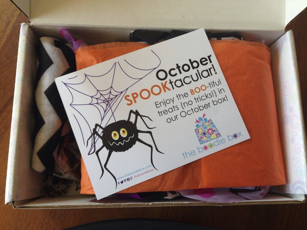 The October Boodle Box Was SO Adorable And Amazing. It Was Totally  Halloween Themed And Amazing. Can I Keep It? Pretty Please?