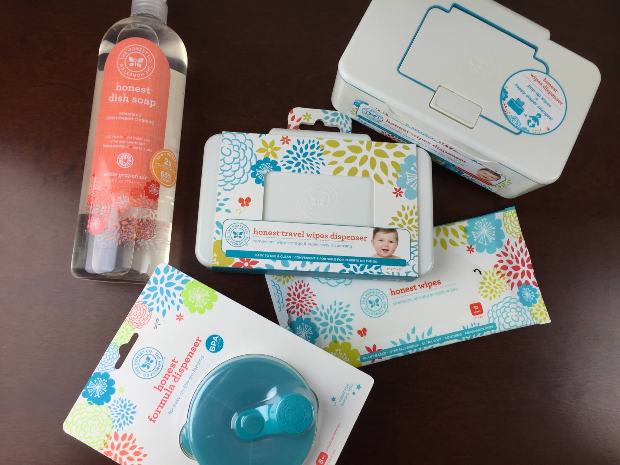 Honest company reviews new improved dish soap baby wipe