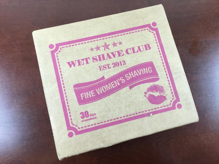 wet shave club for women