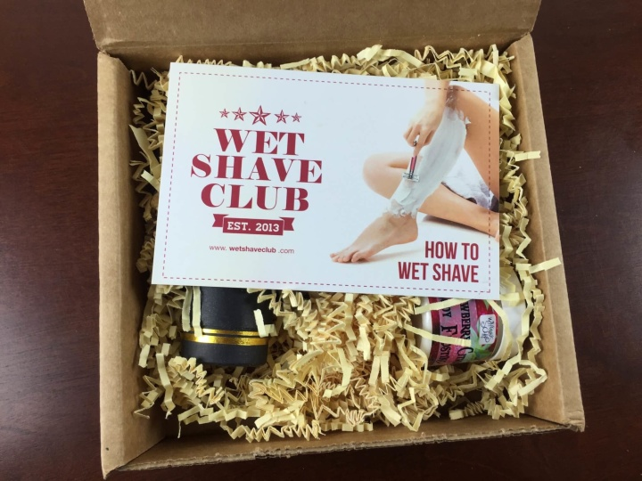 wet shave club women review