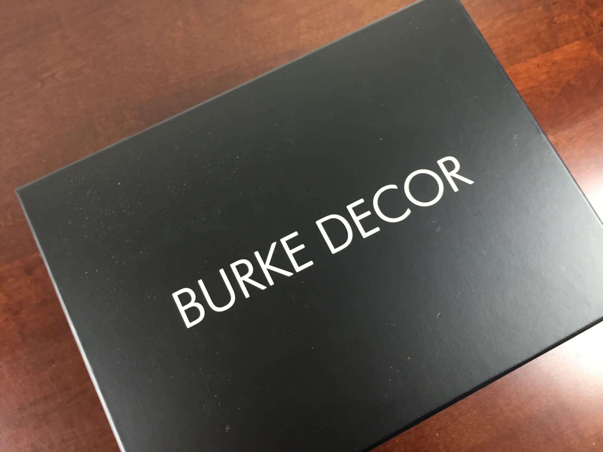 Burke box whole home subscription box review june 2015 for Home subscription box