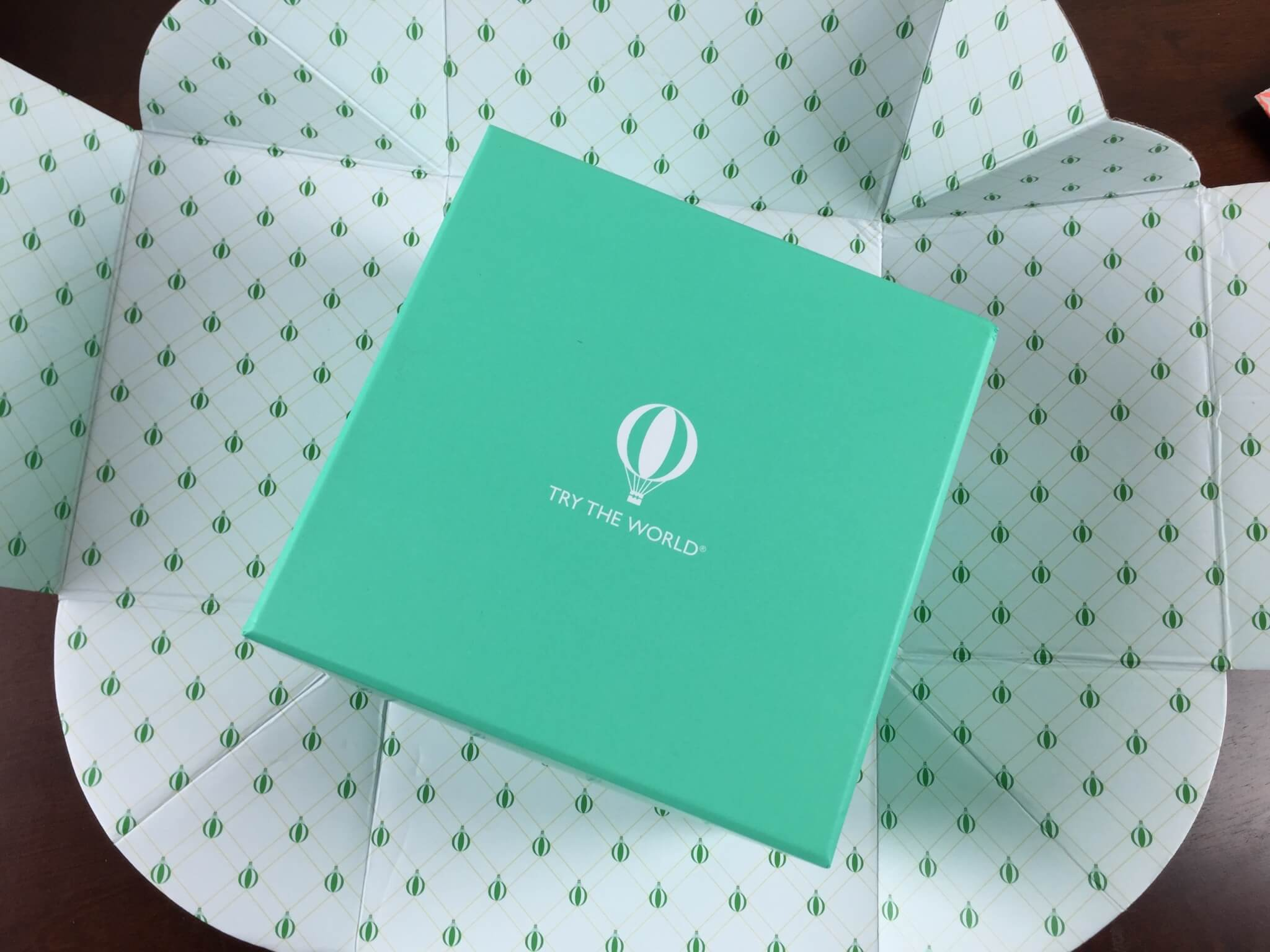 Try The World July 2015 Subscription Box Review Amp Coupon