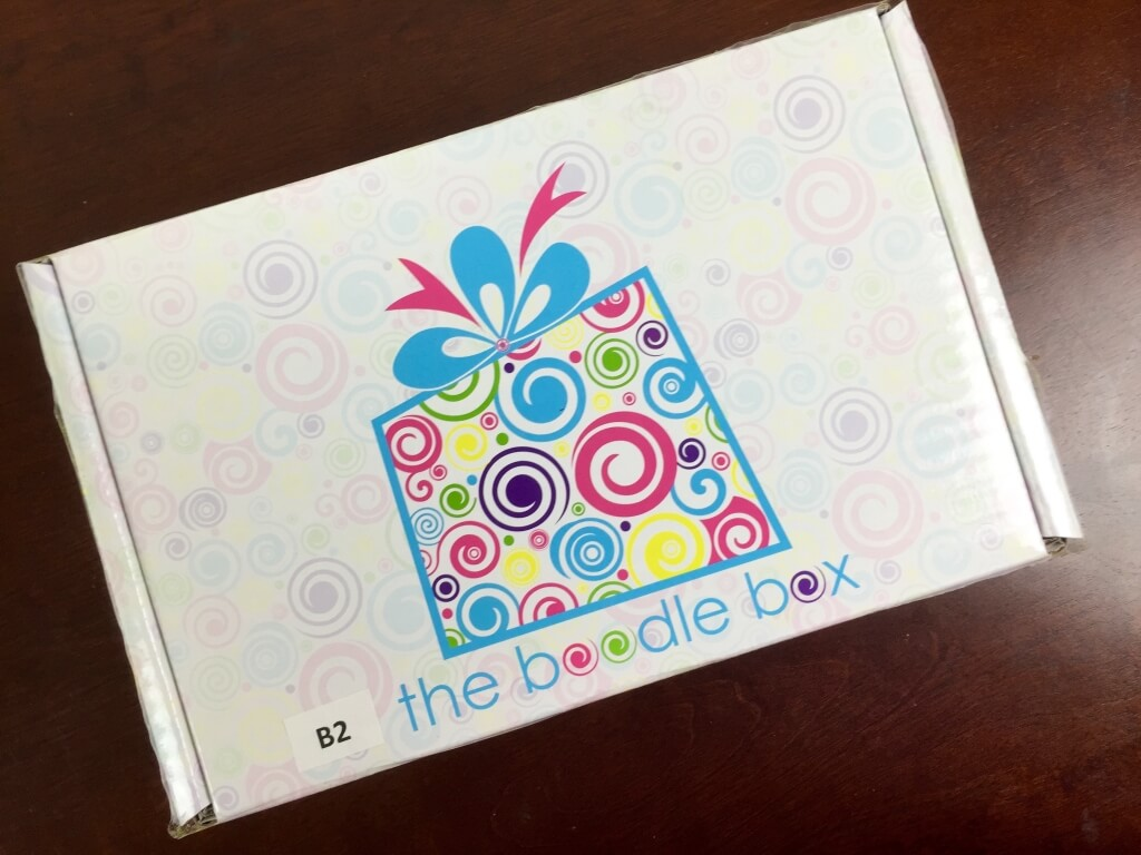 August 2015 Boodle Box One Two Subscription Box Review