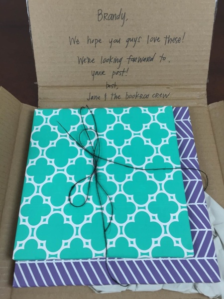 bookroo august 2015 unboxing