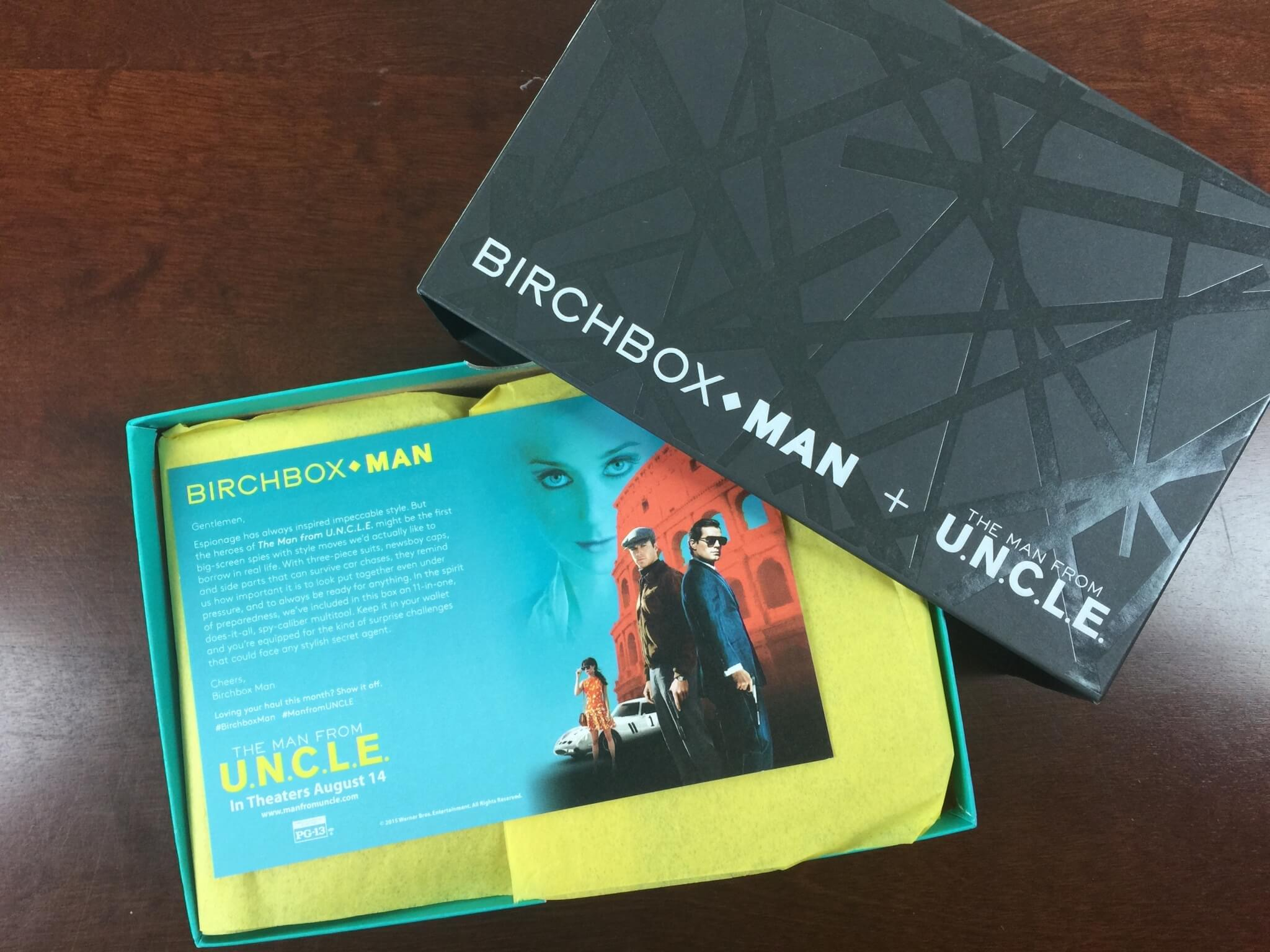 Birchbox Man Subscription Box Review Amp Coupon September