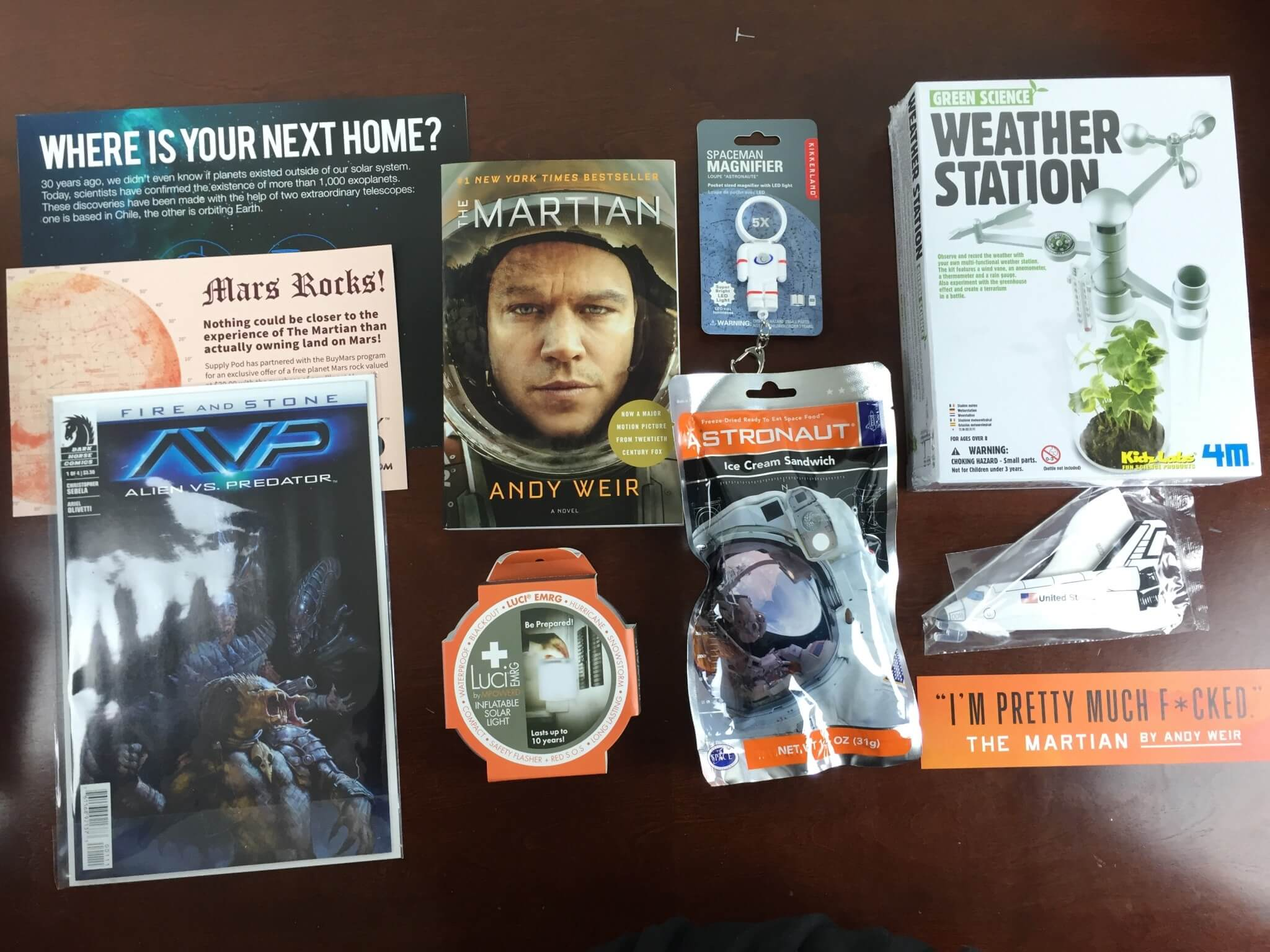Outer Places Supply Pod The Martian Box Review Amp Coupon