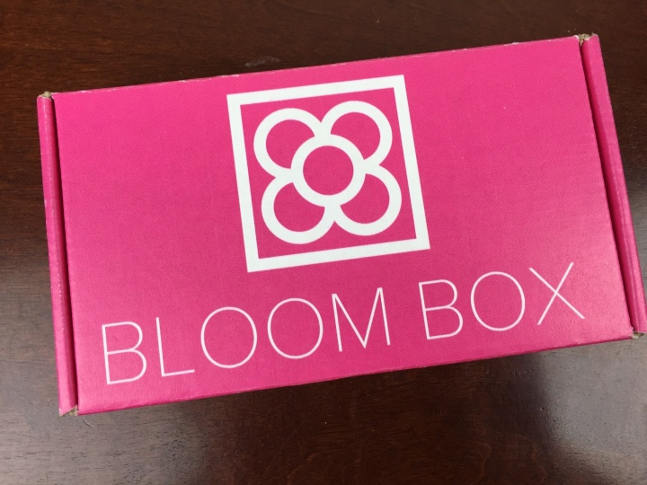 Bloom Box December 2015 box