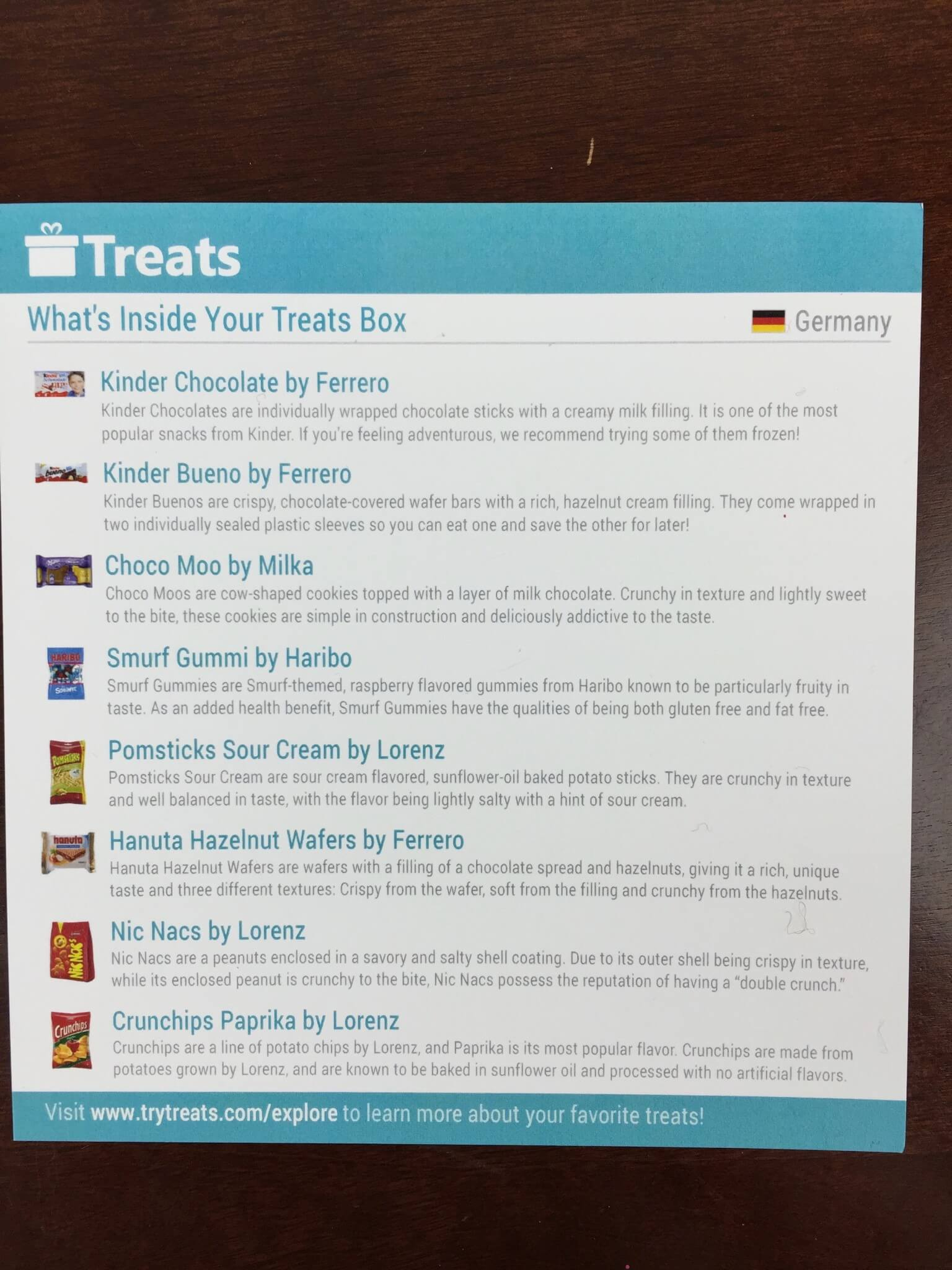treats box december 2015 review coupon code germany hello subscription. Black Bedroom Furniture Sets. Home Design Ideas