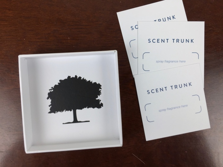 scent trunk december 2015 unboxing