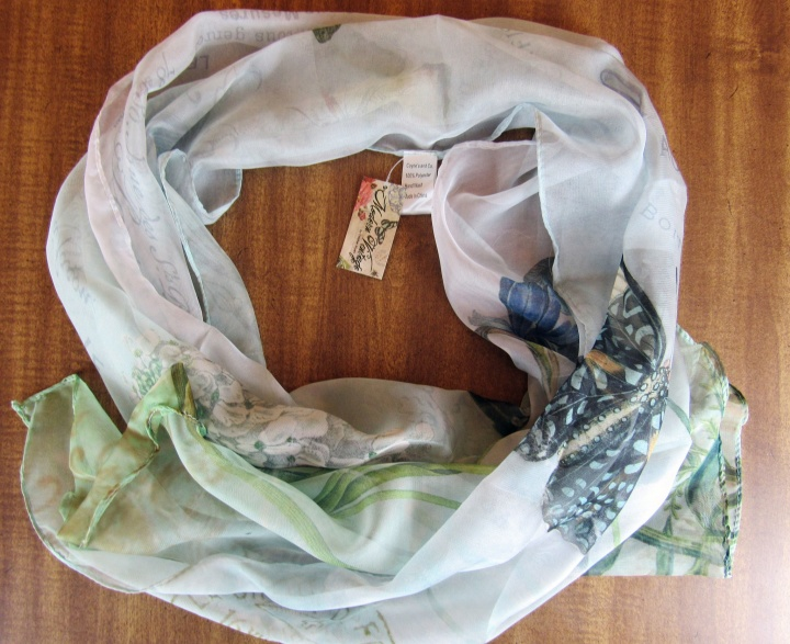 Cpyne's and Company Artist Designed Scarf