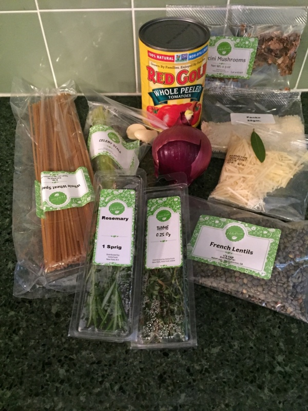 Hello Fresh Veggie Box April 2016 (2)