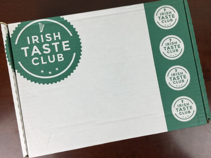 Irish Taste Club Box April 2016 box