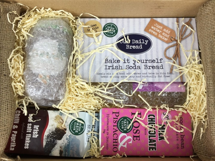 Irish Taste Club Box April 2016 unboxed (2)