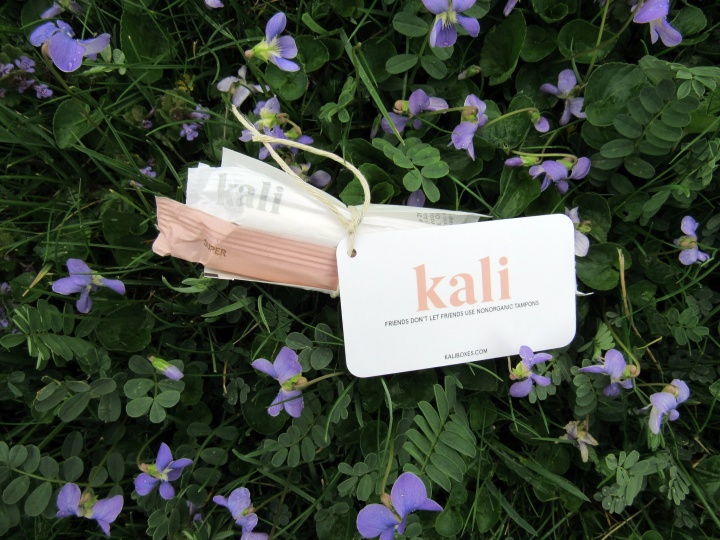 Kali Organic Tampon Sampler and Wipette