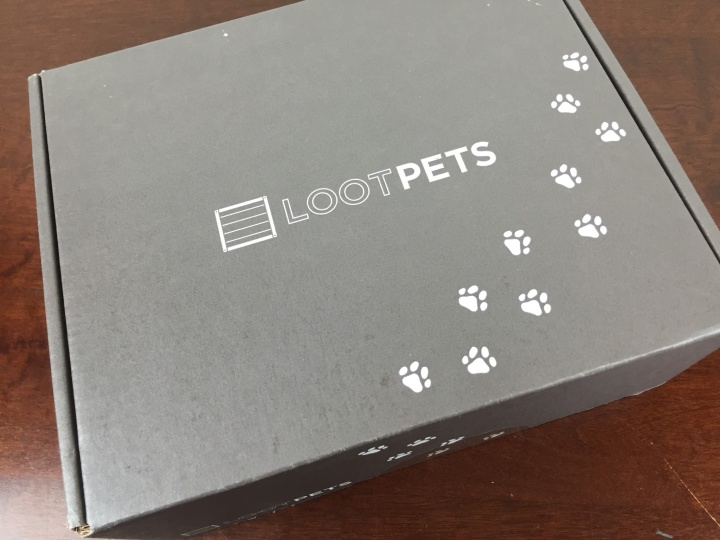 Loot Pets Box April 2016 box