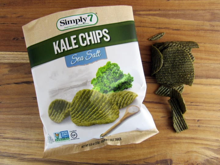 Sea Salt Kale Chips by Simply 7 Snacks