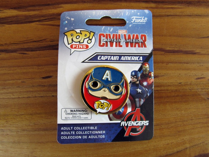 POP! Pins Civil War Captain America