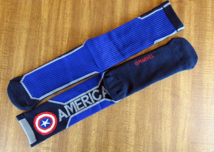 Marvel Captain America Socks