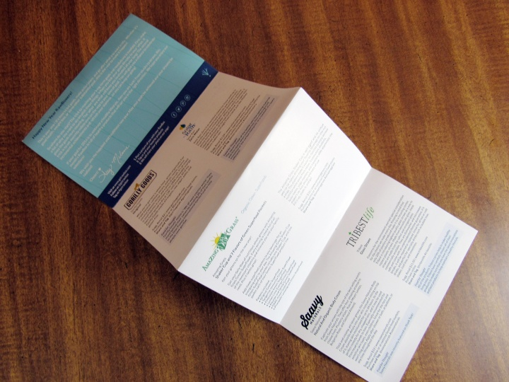 Double-sided Information Card