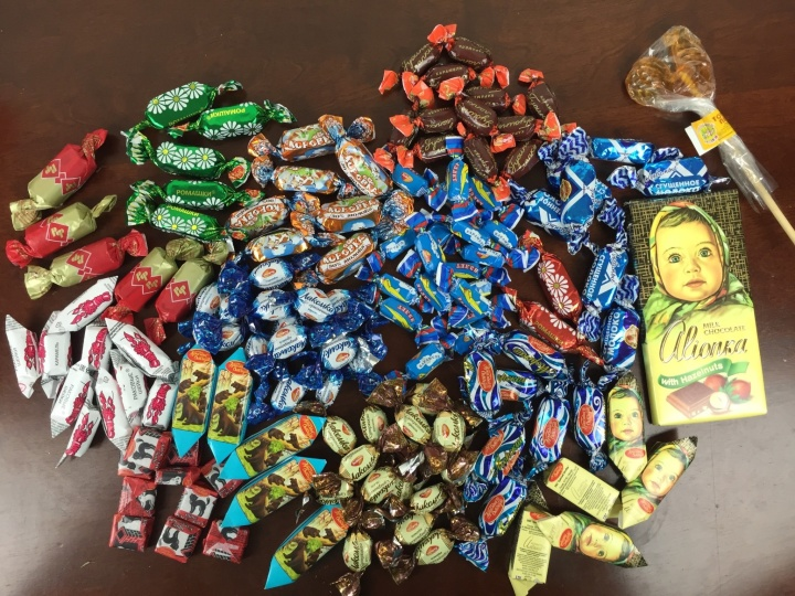 Russian Candy Box April 2016 review (2)