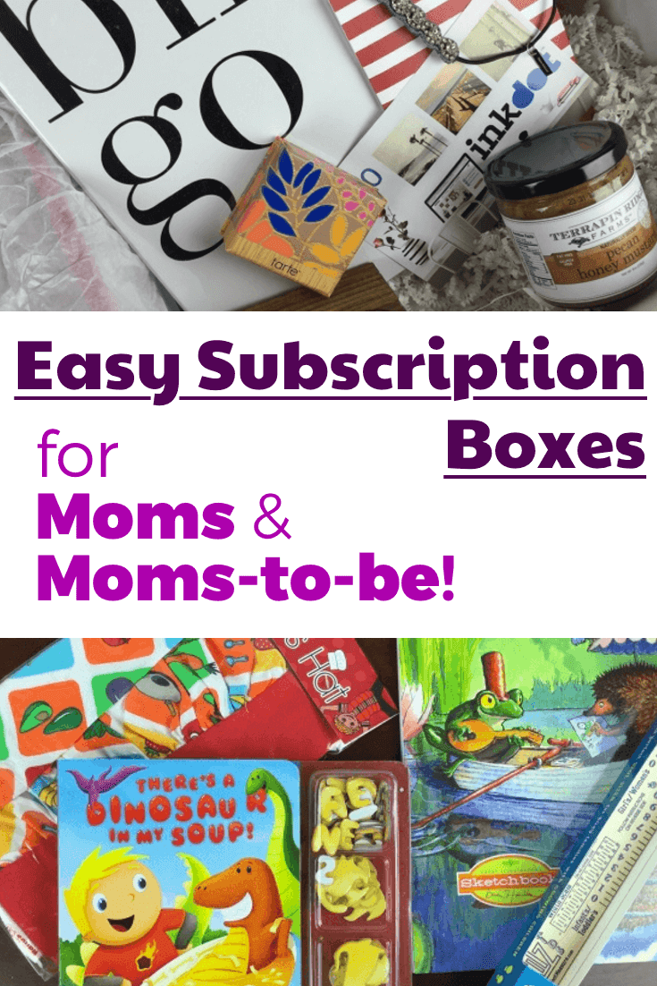 easy subscription boxes for moms