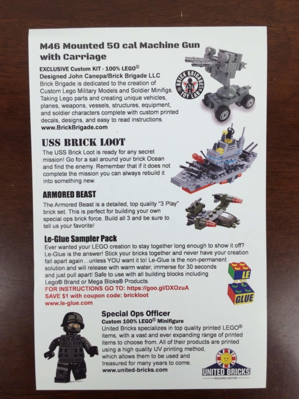 Brick Loot Box May 2016 (2)