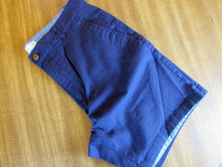 Five Four Balsam Navy Shorts