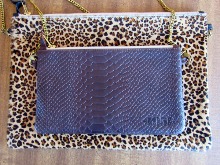 Size Comparision to the Size L Maison Francaise Clutch