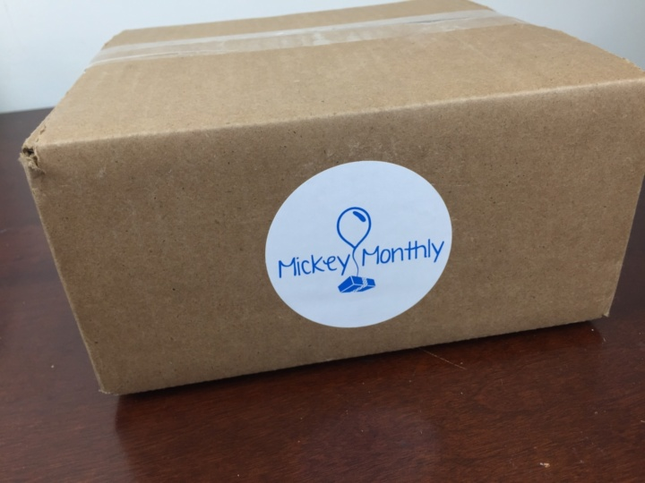 Mickey Monthly Box May 2016 box
