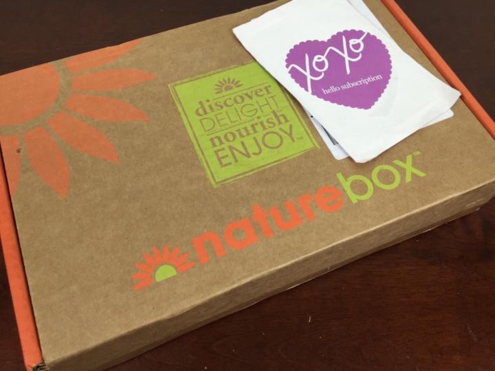 NatureBox June 2016 Box