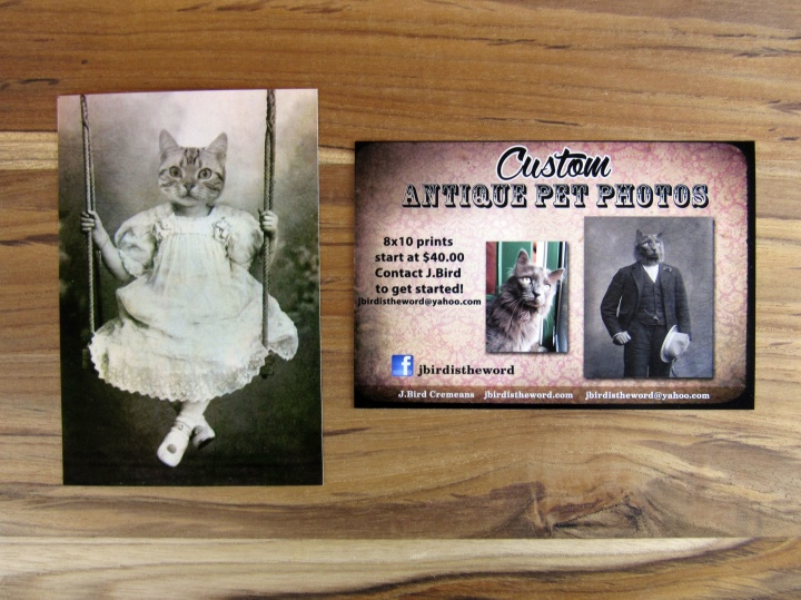 Custom Antique Pet Photo