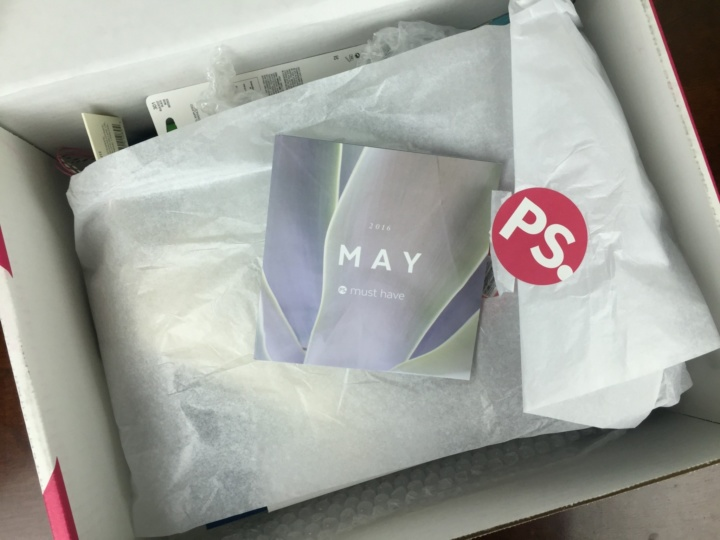 POPSUGAR must have box may 2016 unboxing
