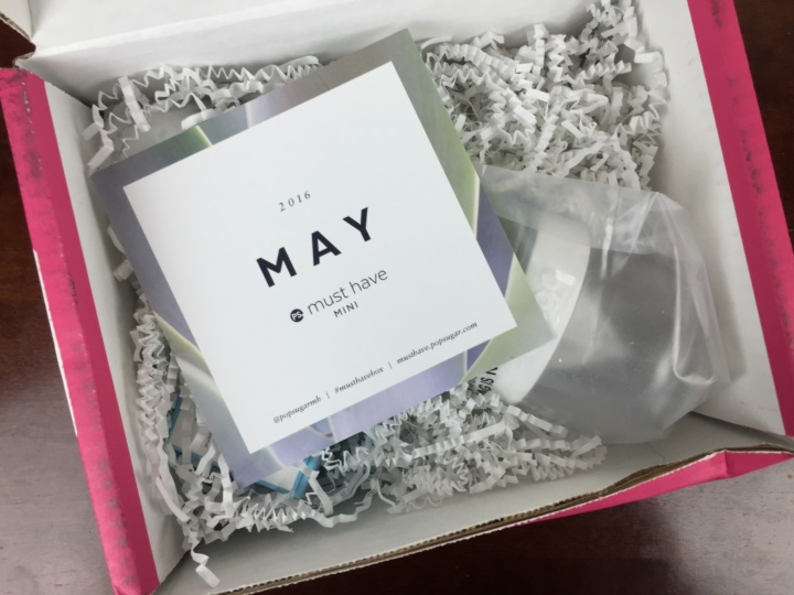 POPSUGAR must have mini may 2016 unboxing