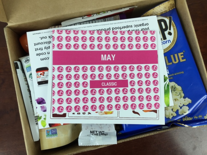 UrthBox May 2016 unboxing