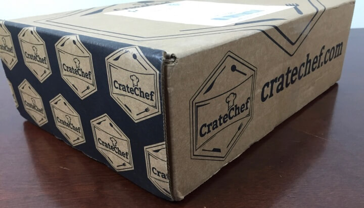 CrateChef May 2016 box