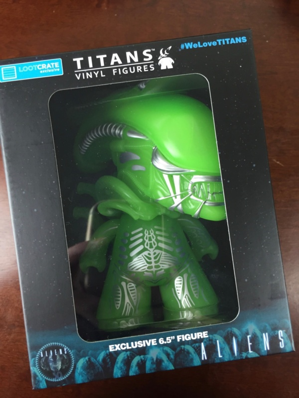 loot crate aliens limited edition box alients titans