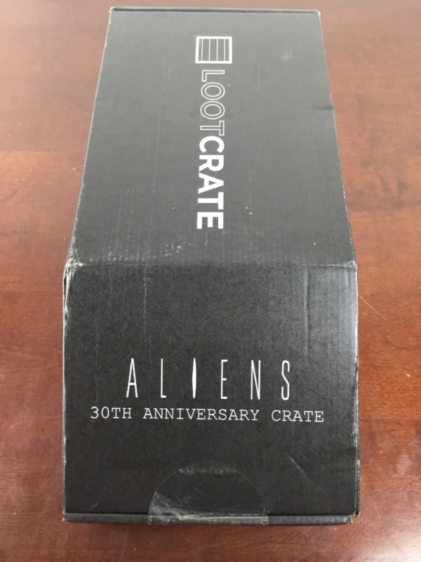 loot crate aliens limited edition box box