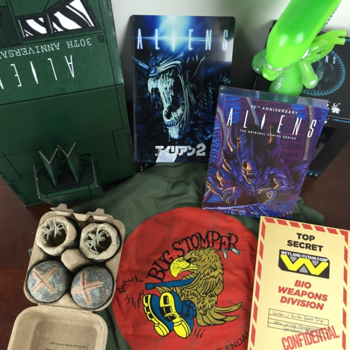 loot crate aliens limited edition box review