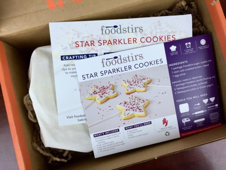 Foodstirs June 2016 unboxing