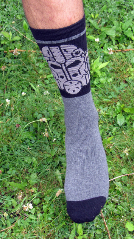Exclusive Fallout 4 Gas Mask Socks